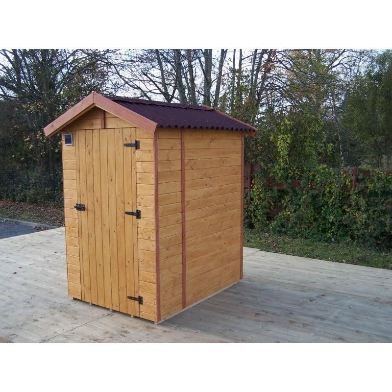 Abri toilettes seches 1.4x1.4m 16mm