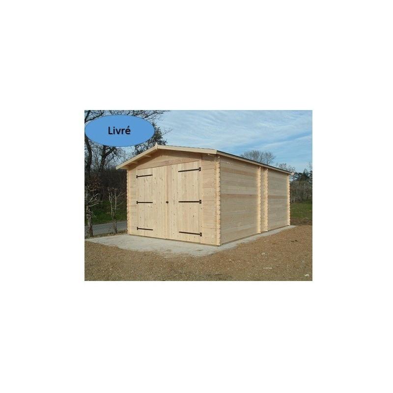 Garage dorna 3 5 x 5 4 m for Piscine bois 5x5
