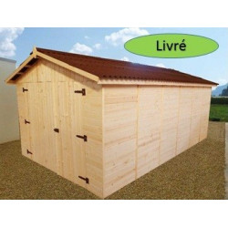 Garage EDEN 2,8x4,8m 16mm
