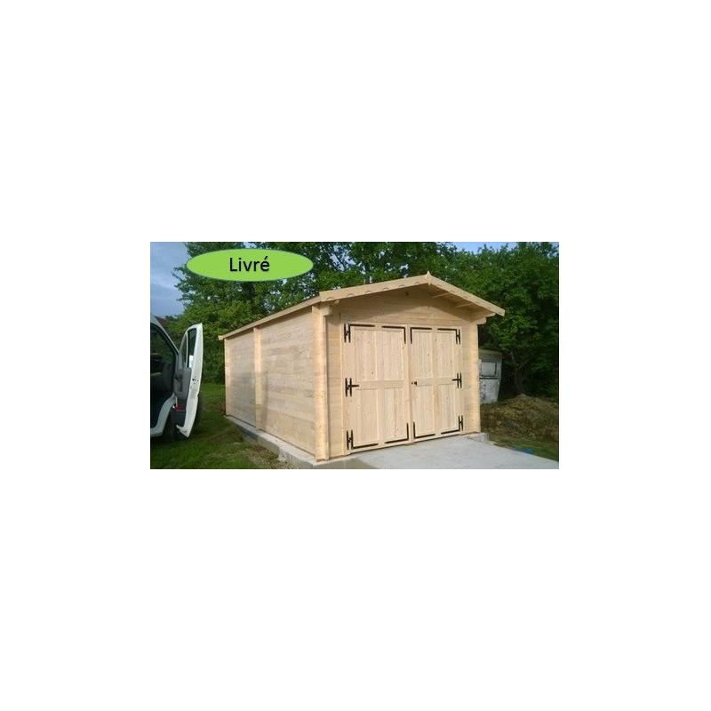 Garage VECTURA 3.5X6.2m 42mm