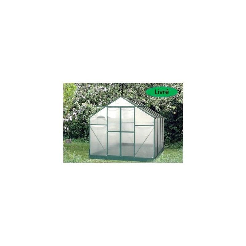 Serre pour jardin 7,08 m2