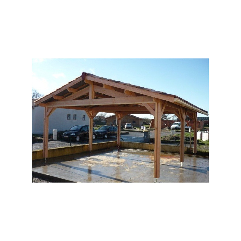 Carport FRANCHE 4.5x4.5m