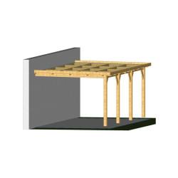 Ossature PLAZA 4x10.5m