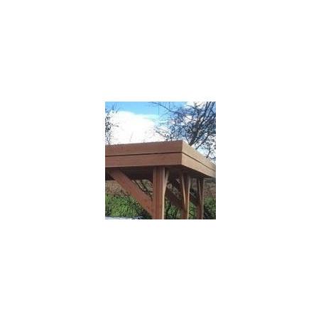 Ossature toit plat IDF 7.8x6.1m