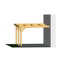 Ossature PLAZA 4.5x4..5m