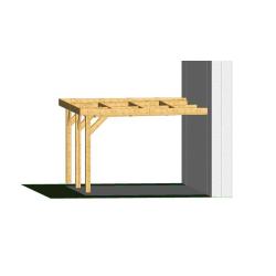 Ossature PLAZA 4.5x5m
