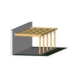 Ossature PLAZA 4.5x12.5m