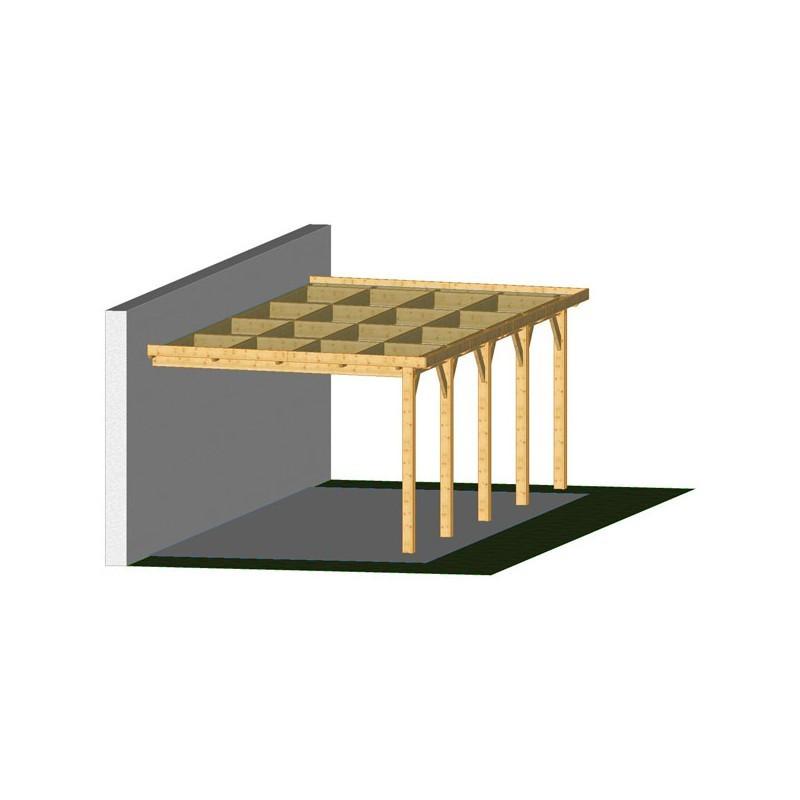 Ossature PLAZA 5x12.5m