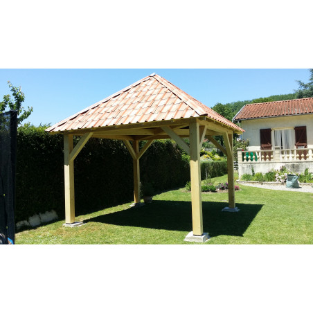 Auvent QUIETA 4.5X4.5M