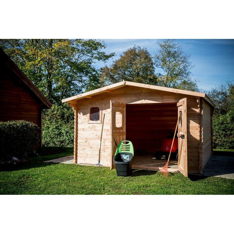 Abris de jardin DOMMAR 4x3 28mm