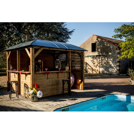 Pool House BLUETERM3.6x3.0m