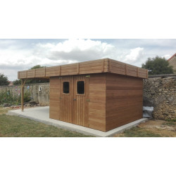Abris de jardin en bois, Cabanon bois, Carport