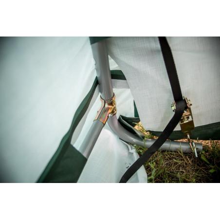 Abris jardin toile 3x3m